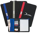 Contemporary 11 X 8.5 Zippered Portfolios